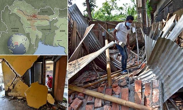Now Covid-ravaged India suffers an earthquake