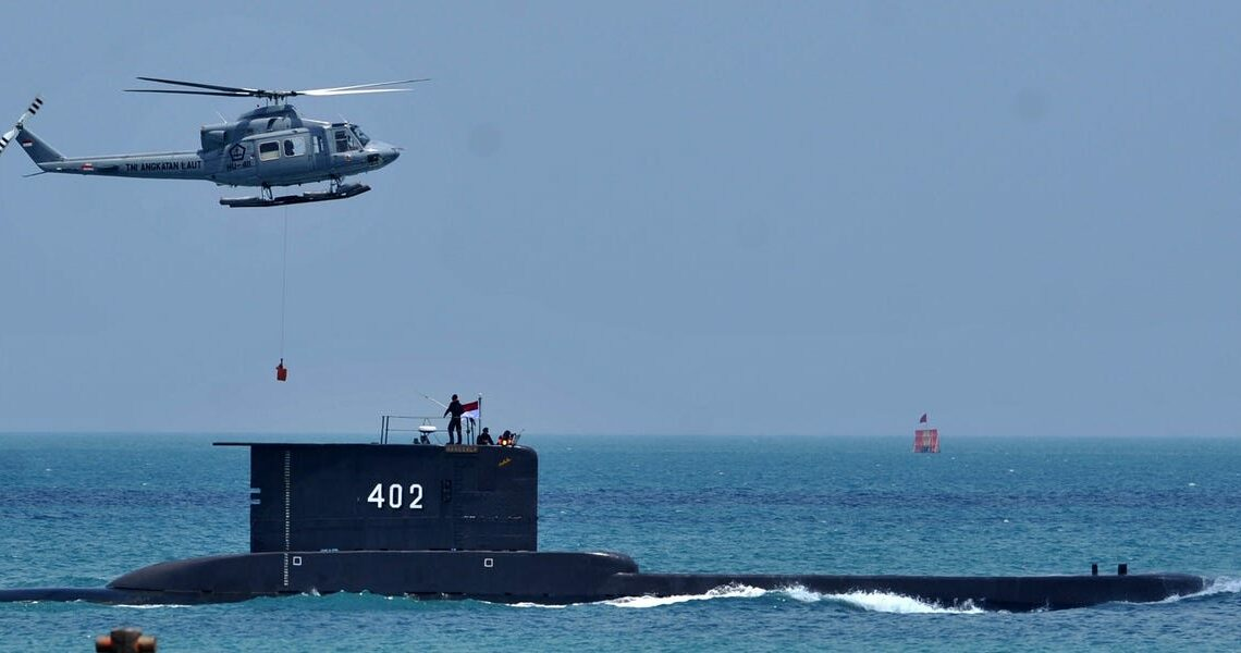Pentagon says the US military is sending air assets to help Indonesia look for its missing submarine