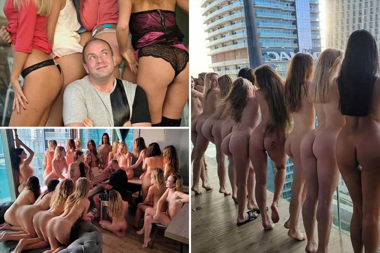 Playboy businessman who posted X-rated photoshoot with nude models in Dubai speaks out for first time