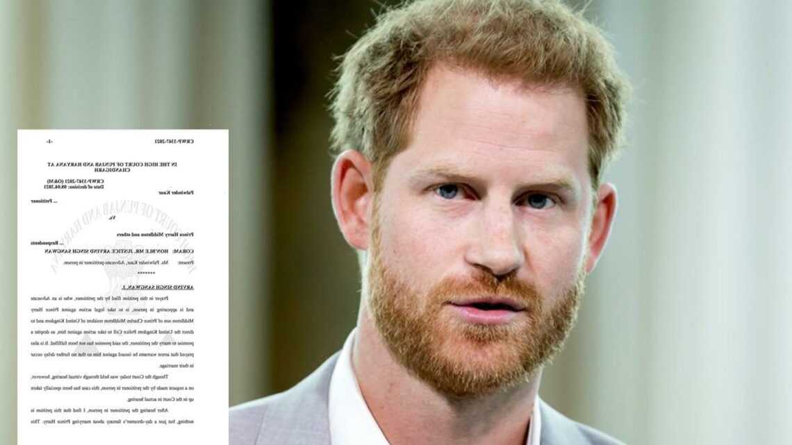 Prince Harry agreed to MARRY ME, claims furious woman duped by conman… who now wants royal arrested