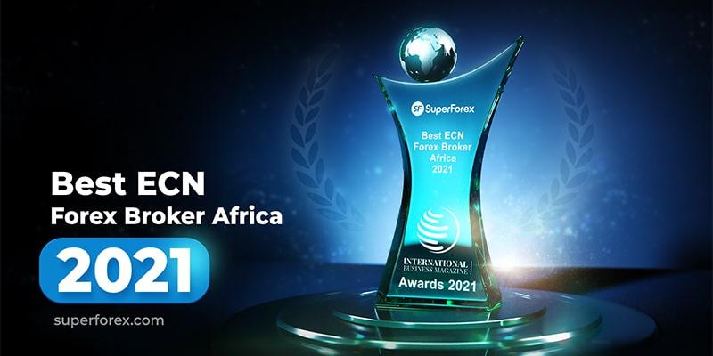 SuperForex Named 2021 Best ECN Forex Broker in Africa