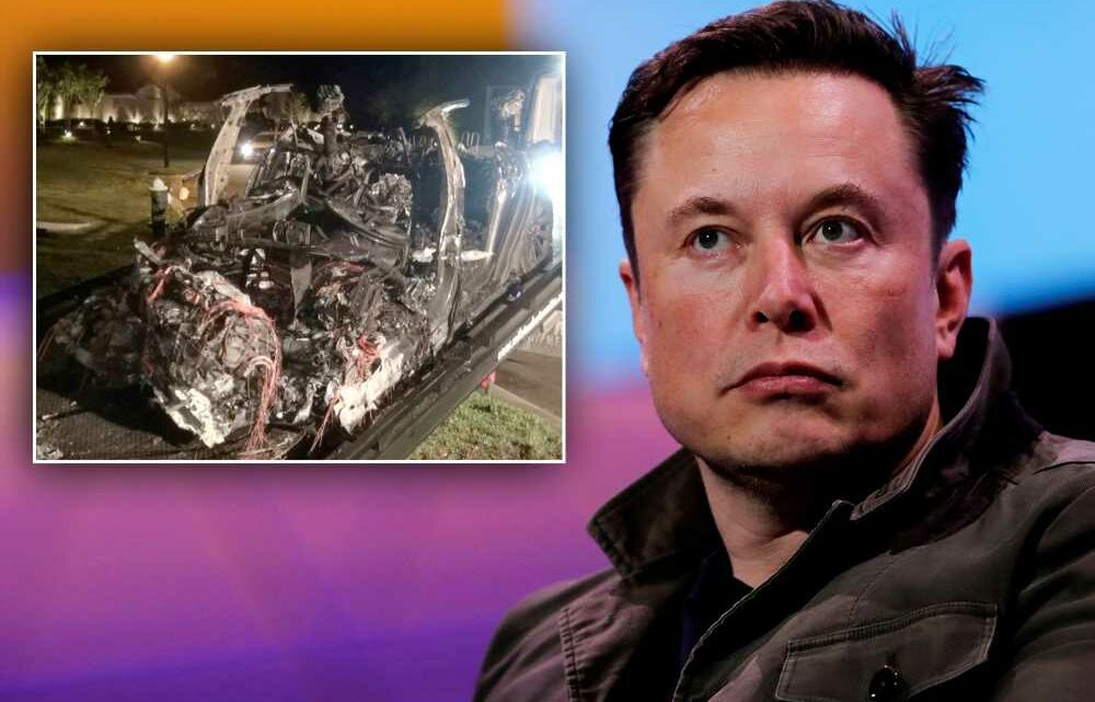 Texas police to demand data from Tesla after deadly Houston crash: report