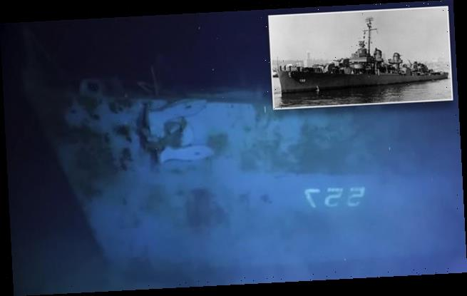 US crew has reaches the World's deepest ever shipwreck at 21,180ft