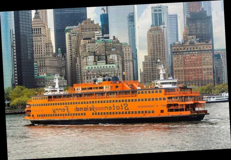 Man, 53, 'pulled from water after jumping from New York City's Staten Island ferry'
