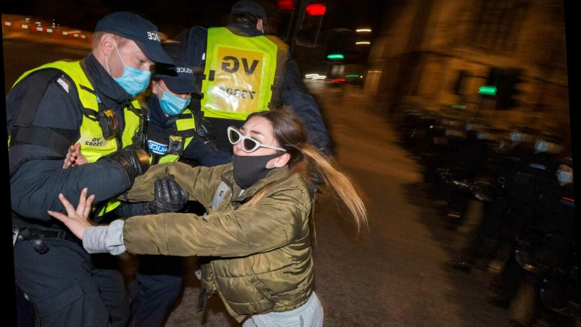 Police officers are becoming 'society's punchbags' amid violence at Kill the Bill demos, officials warn