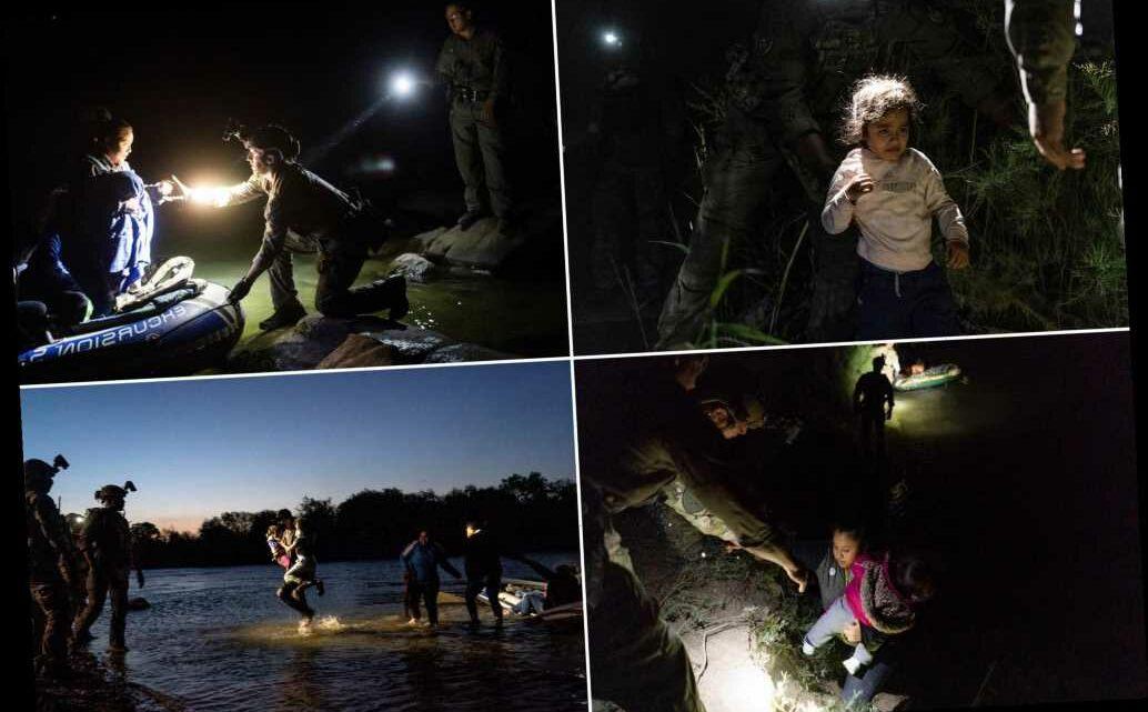 Texas Ranger, Border Patrol agents help migrants cross into US on raft