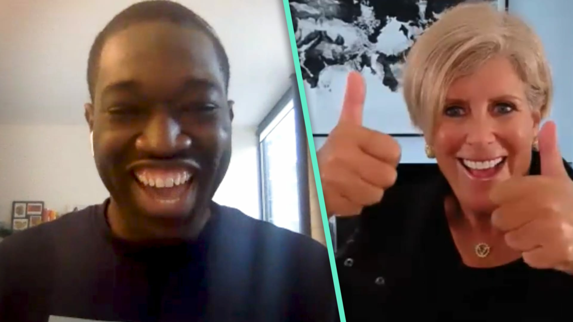 A millennial whose salary increased $32,000 in 1 year reacts to Suze Orman's advice to him
