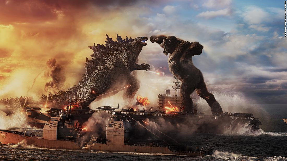 See Godzilla and King Kong battle it out in new trailer