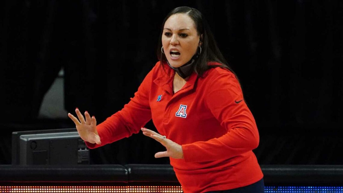 Arizona women's basketball coach Adia Barnes not apologizing for impassioned postgame speech
