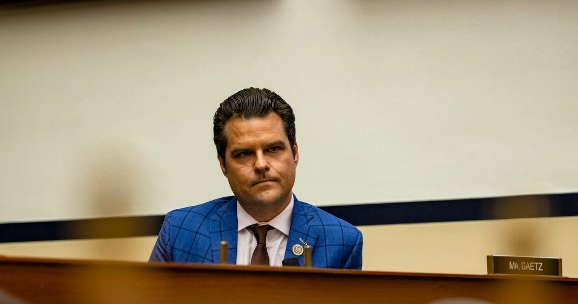 Matt Gaetz said he's talked to every conservative network about a post-Congress gig, but Fox News denied his claims, saying it had 'no interest in hiring him'