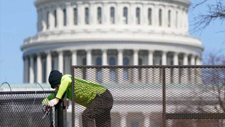 Friday's deadly attack at the US Capitol expected to reignite the debate over security fencing erected after riot