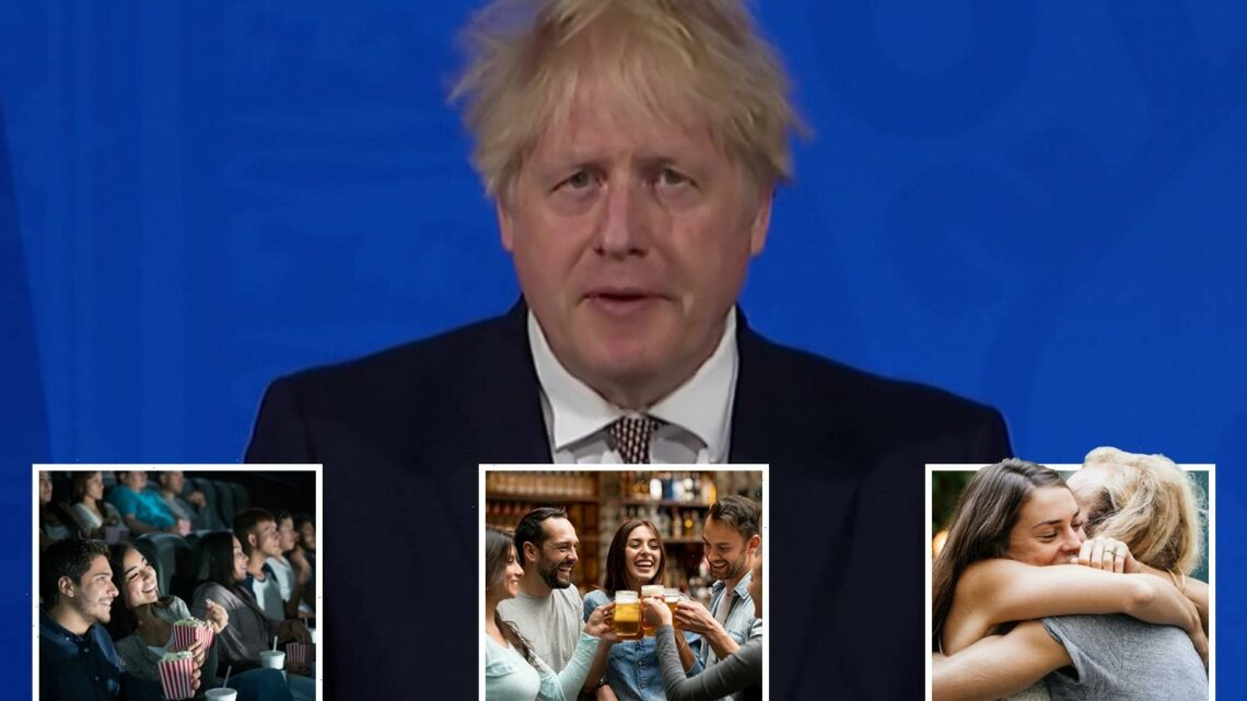 Boris Johnson gives green light for fun in biggest unlocking yet with indoor pints, hugs and holidays back from May 17