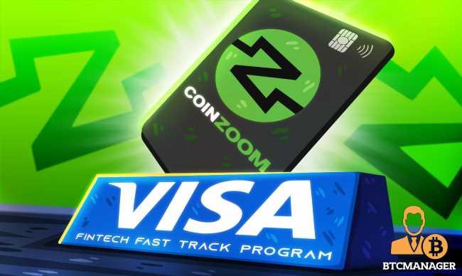 CoinZoom Joins Visa's Fintech Fast Track Program