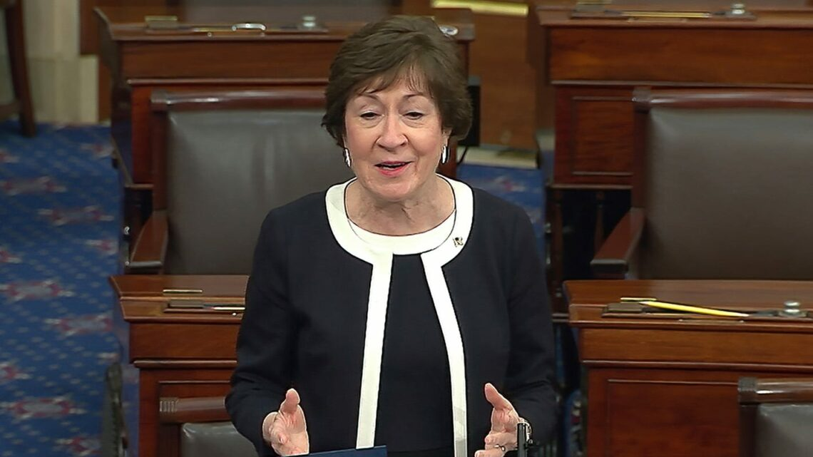 Collins says she was 'appalled' at boos for Romney from Utah Republicans at censure vote