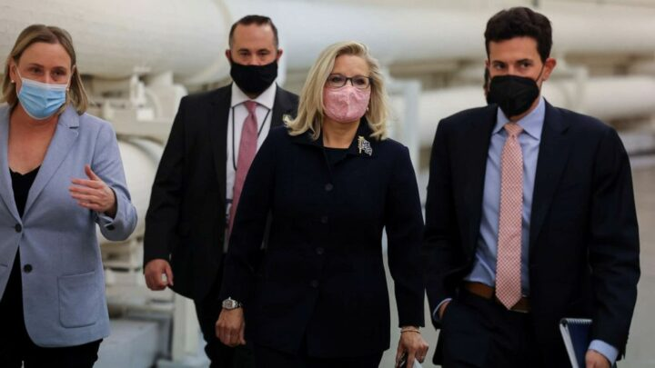 House Republicans poised to remove Rep. Liz Cheney from leadership for Trump criticism