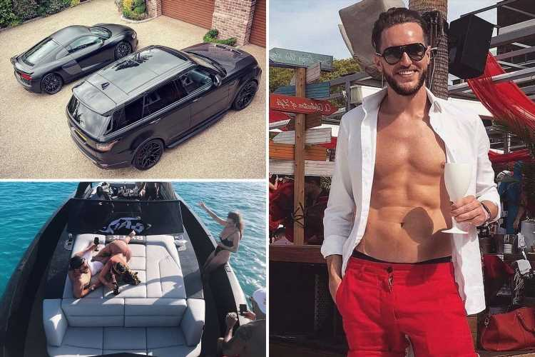 Inside the lavish lifestyle of millionare OnlyFans CEO with country mansion, £120k supercars & luxury holidays