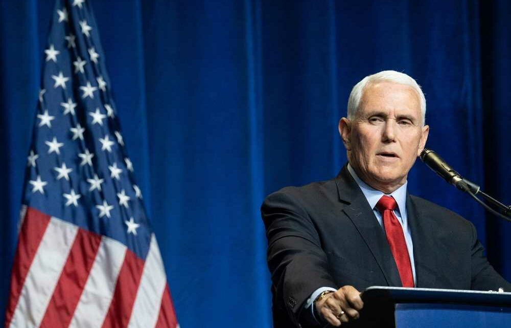 Mike Pence slams Biden's foreign policy in scathing op-ed amid Middle East unrest