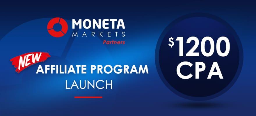 Moneta Markets Launch Breakthrough Affiliate Program!