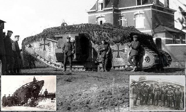 New photos show how Germans captured and used British tanks in WWI