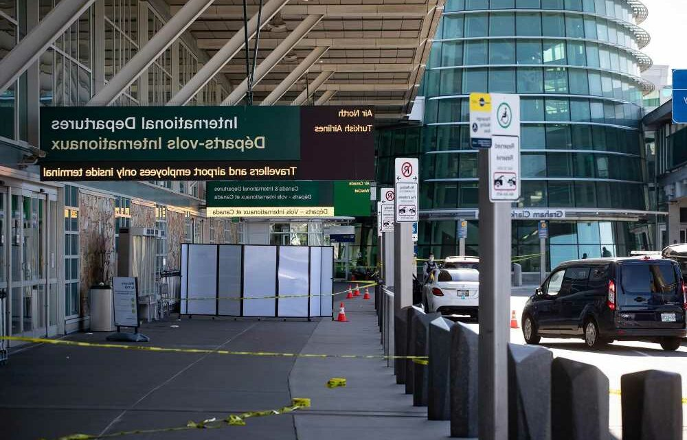 One person killed in shooting at Vancouver airport
