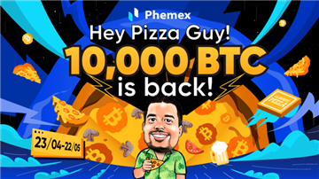 Phemex's Quest for the Bitcoin Pizza Guy