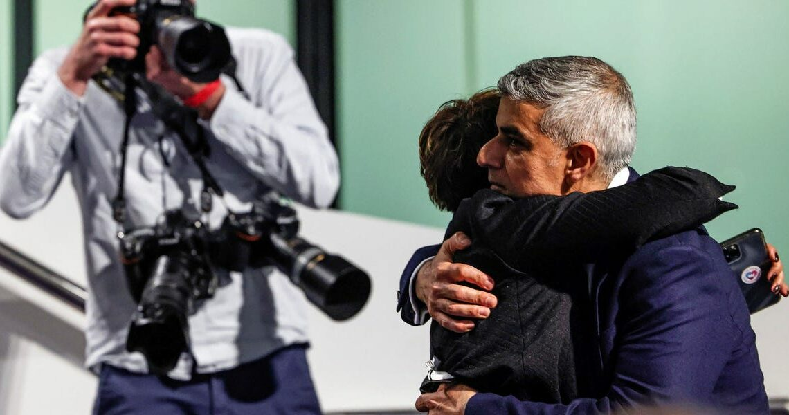 Sadiq Khan, the first Muslim to head a major Western capital, has been re-elected as mayor of London