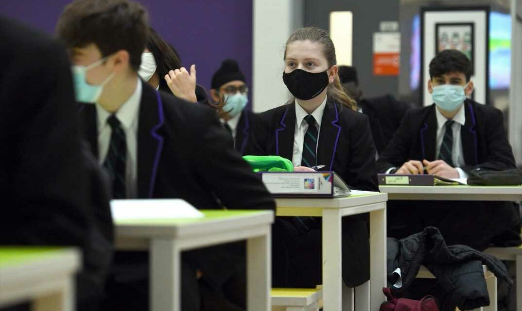 Secondary school kids WON'T have to wear face masks in classroom from Monday, Boris Johnson confirms