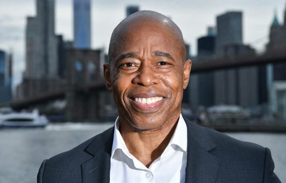 The Post says Eric Adams should be NYC's next mayor