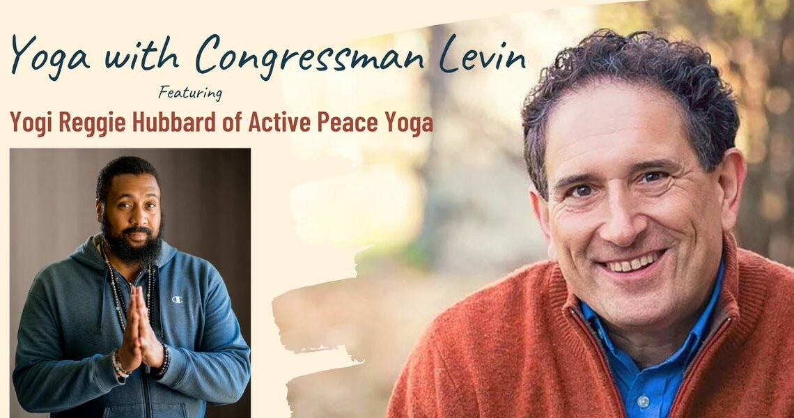This bearded and beaded Prince devotee is the Democrats' secret weapon for busting burnout through yoga