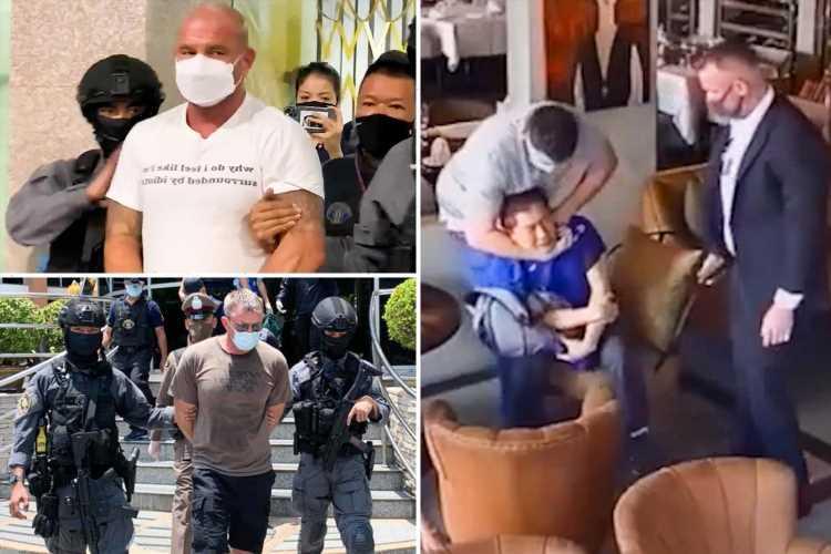Two US Marines arrested after being 'filmed abducting Bangkok businessman for $2.9M ransom after bad PPE deal'
