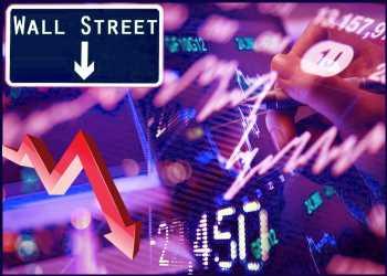 U.S. Stocks Close Lower As Weak Housing Starts Data Weigh
