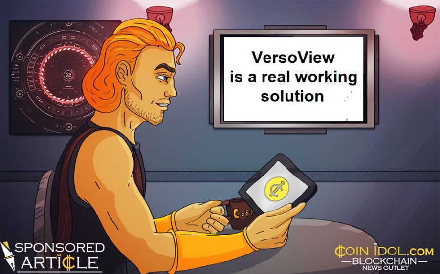 VersoView: Building Brands and Communities with Unique Blockchain Publish, Engage and Reward AI Solution