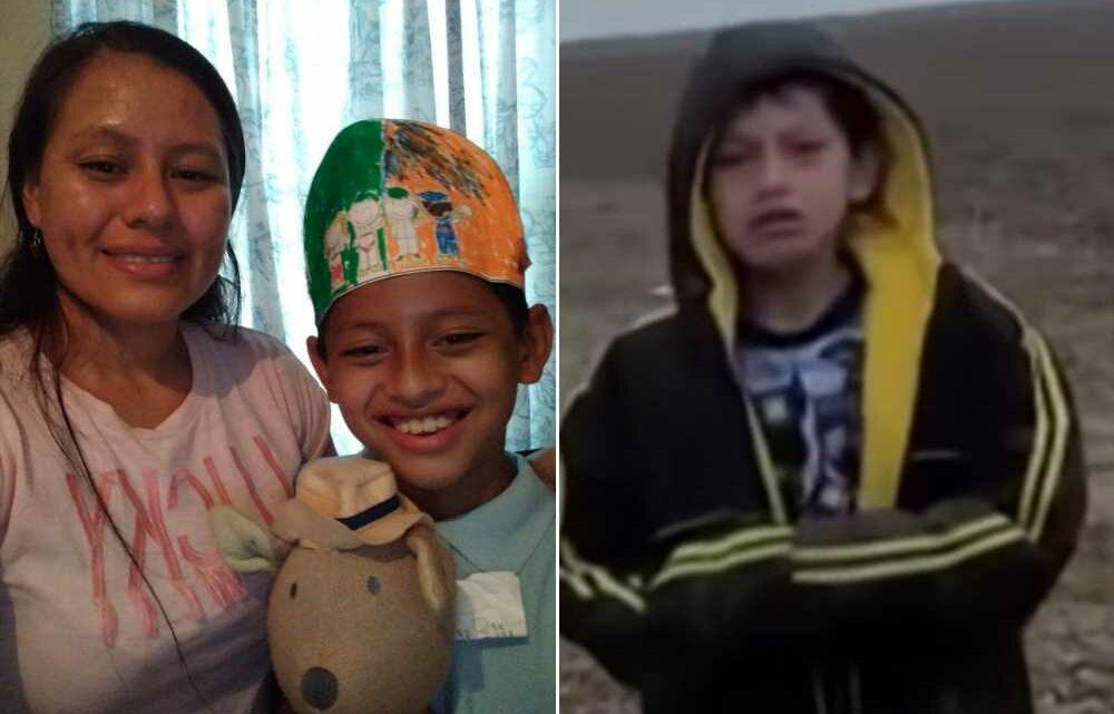 10-year-old boy found sobbing alone at US border reunited with mom