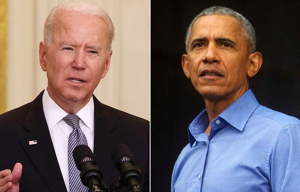 Barack Obama says Biden is 'finishing the job' of his presidency