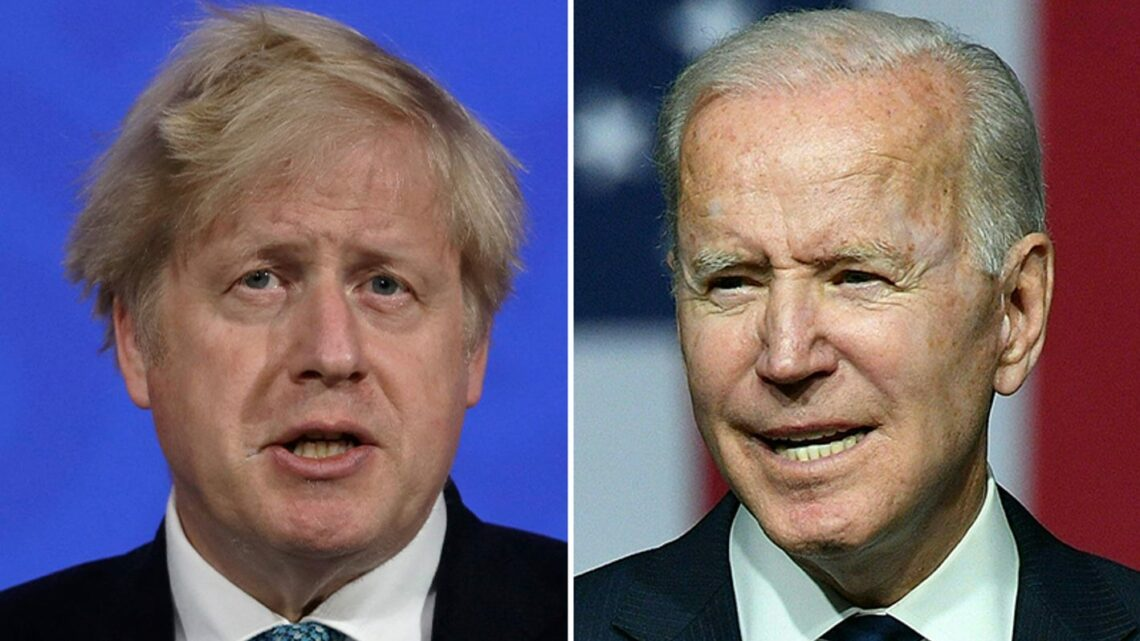 Biden, Boris Johnson expected to talk COVID-19 travel changes, Atlantic Charter modeled on Churchill-FDR
