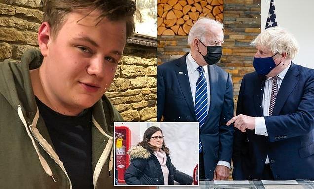 Boris Johnson raises Harry Dunn case with President Biden