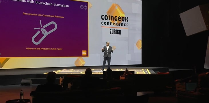 CoinGeek Zurich: BSV blockchain revolutionizes invoice processing