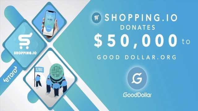 Crypto E-Commerce Giant Shopping.io Supports eToro Social Impact Non-Profit, GoodDollar – Press release Bitcoin News