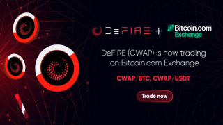DeFire (CWAP) Token Is Now Listed on Bitcoin.com Exchange – Press release Bitcoin News