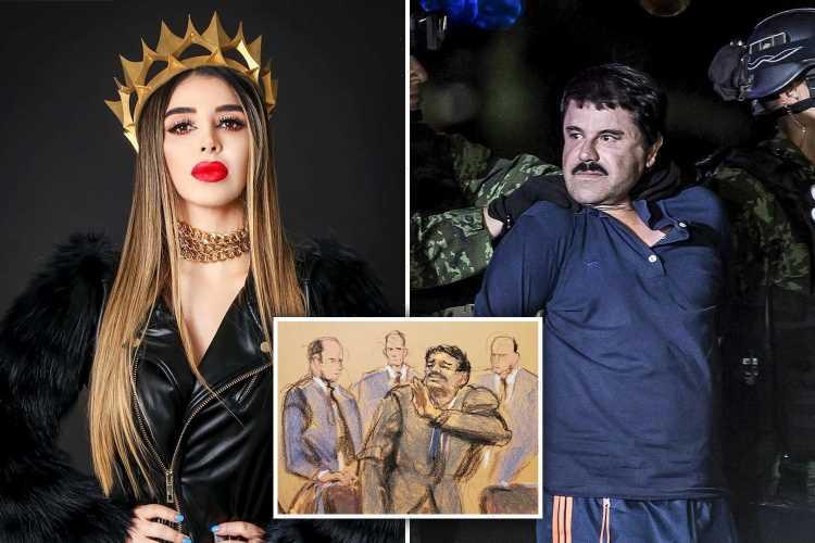 El Chapo's beauty queen wife Emma Coronel Aispuro 'to plead GUILTY to helping run drug empire & may bring down cartel'