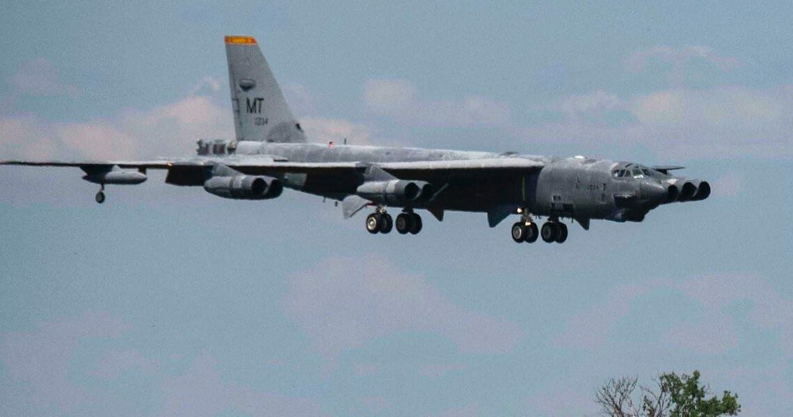 How seagulls brought down a B-52 bomber