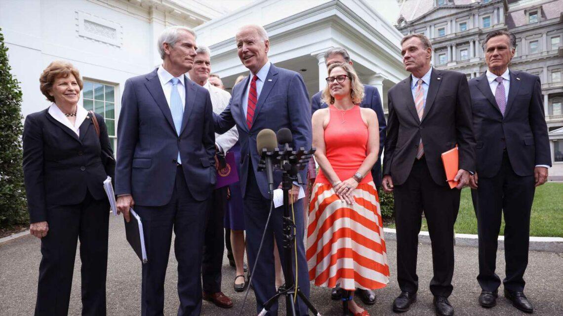 'I do trust the president': Senators scramble to save bipartisan infrastructure deal