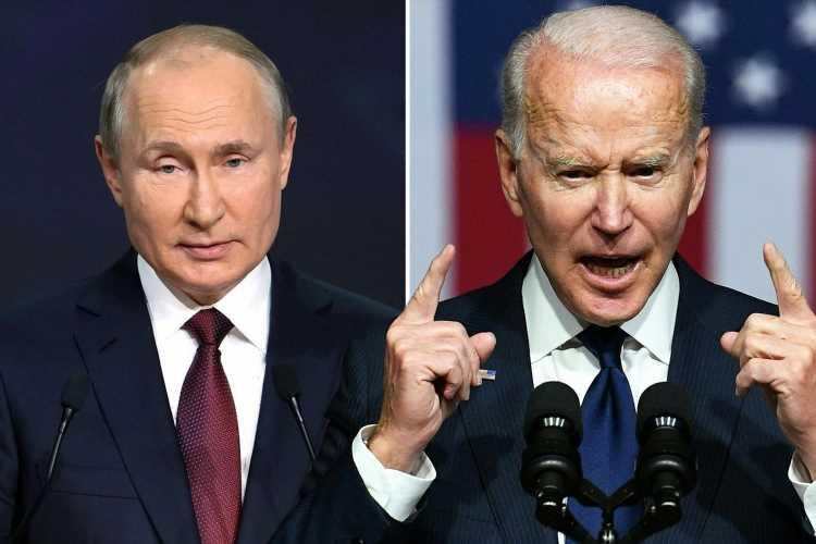 Joe Biden THREATENS Putin ahead of tense summit meeting this week and says he will 'rally the world's democracies'