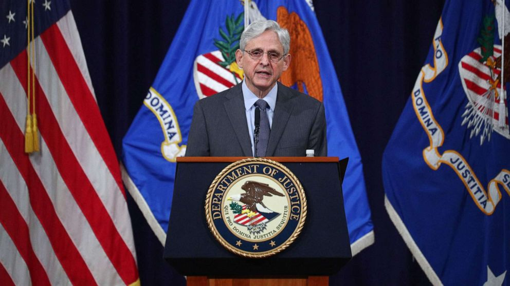 Merrick Garland says DOJ 'will not hesitate to act' on potential civil rights violations of new voting laws