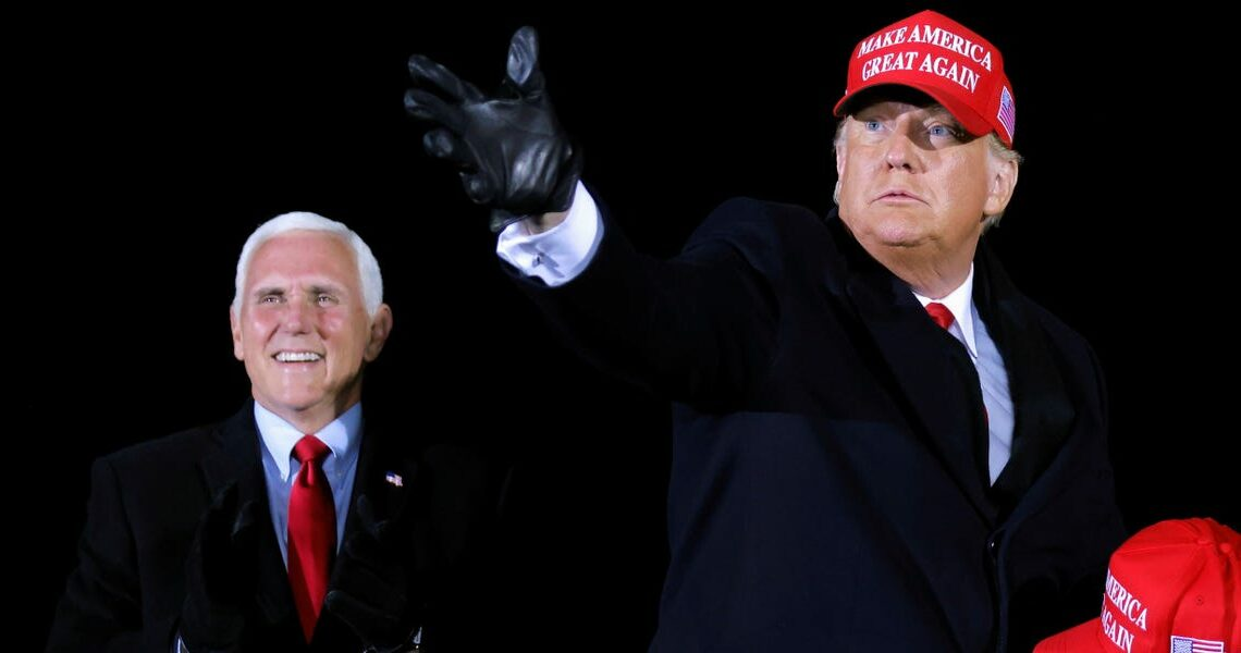 Mike Pence says he and Trump may never 'see eye to eye' on January 6th, but have spoken 'many times' since their reported falling out