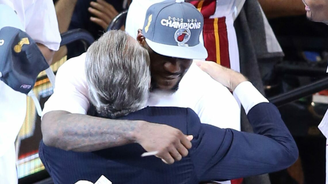 NBA fines Miami Heat president Pat Riley $25,000 for tampering after LeBron James 'key under mat' comments