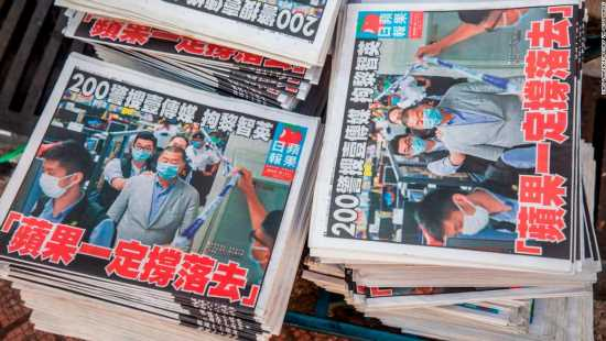Newsroom raid has chilling effect on the press in Hong Kong