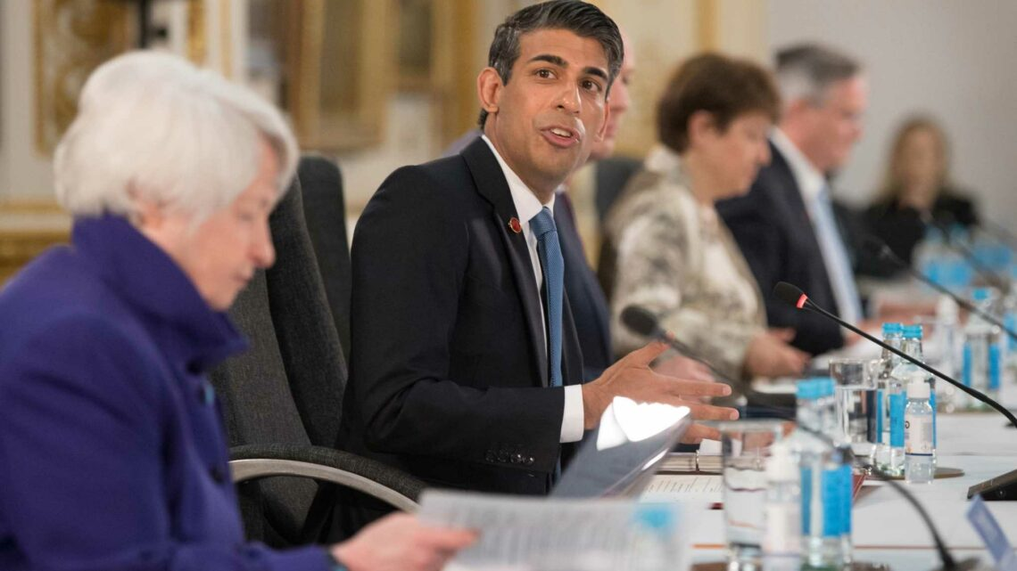 Rishi Sunak hails 'proud moment' as he strikes historic G7 deal that will see tech giants pay their fair share of tax
