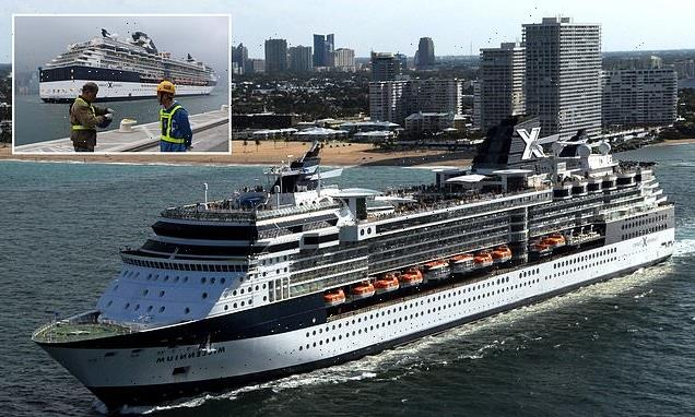 Two passengers on cruise ship test positive for Covid-19 during voyage