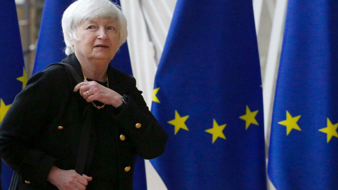 EU delays its digital tax plan as Janet Yellen visits Brussels